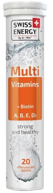 Swiss Energy Multivitamins+Biotin таб. шип. №20