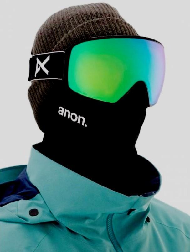 ANON M4 Cylindrical Sonar Goggle + Spare Lens + MFI