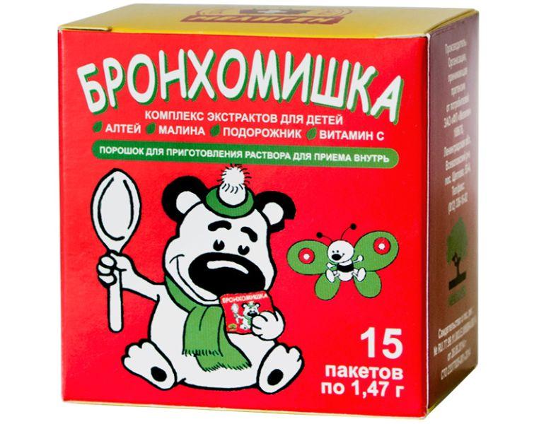 Бронхомишка микстура сухая 1,47 г №15