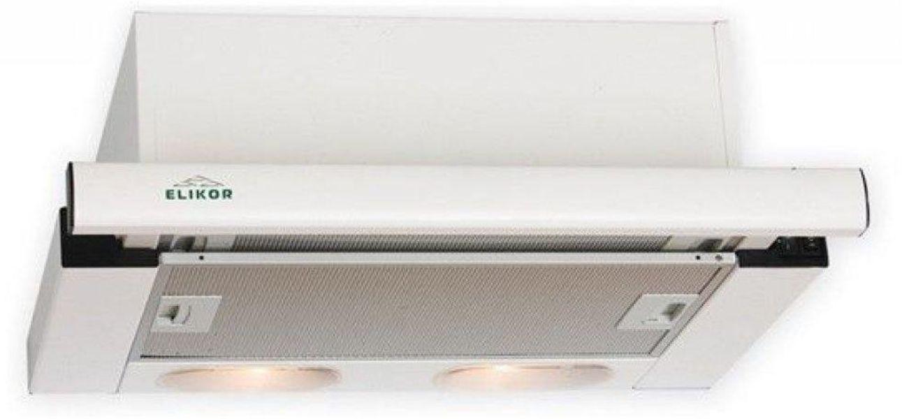 Вытяжка встраиваемая Elikor Интегра 60П-400-В2Л  управление: кнопочное (1 мотор)