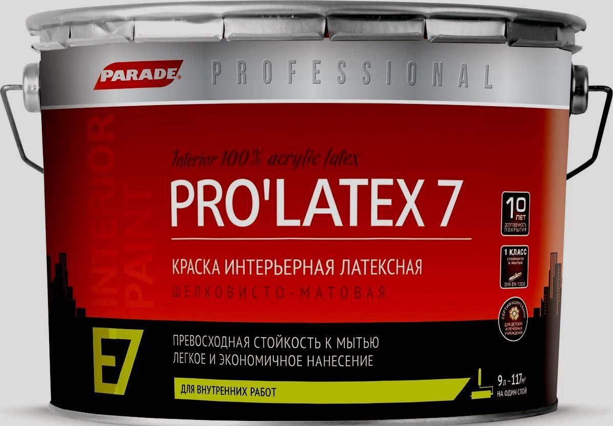 Parade Professional E7 Pro Latex7