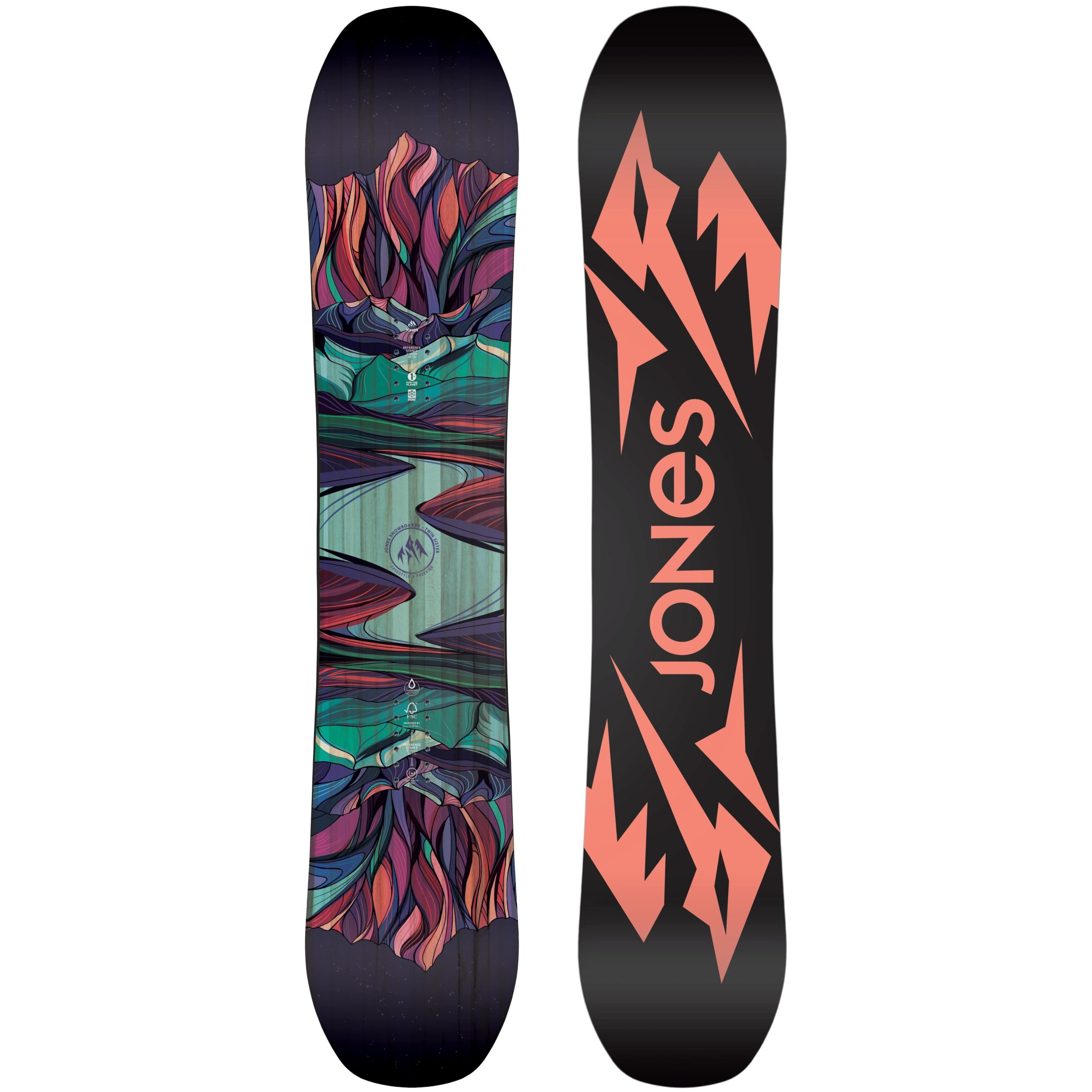 Jones Snowboards Twin Sister