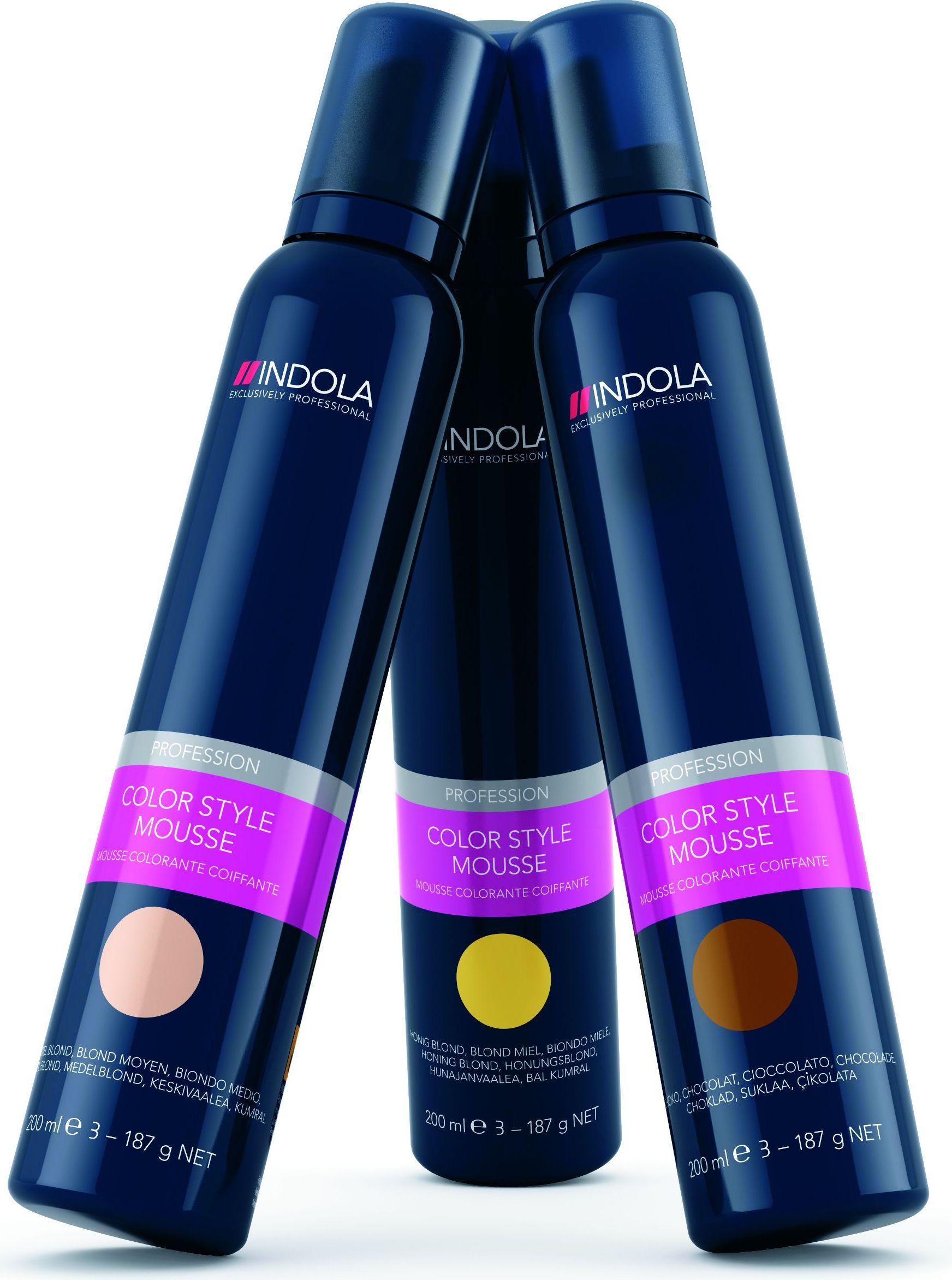 Indola Colour Style Mousse