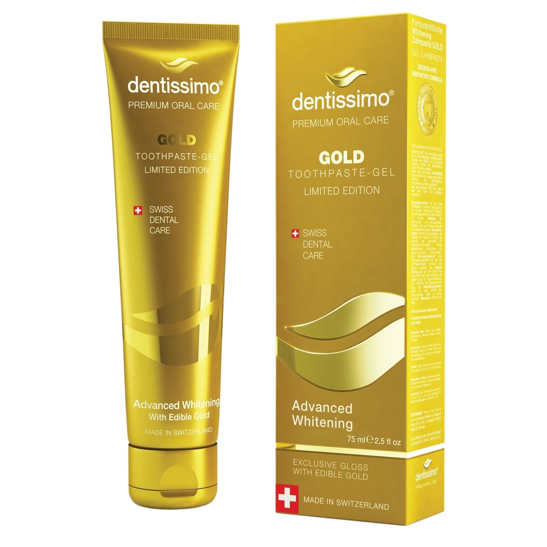 Dentissimo Gold Advanced Whitening «Отбеливающее золото»