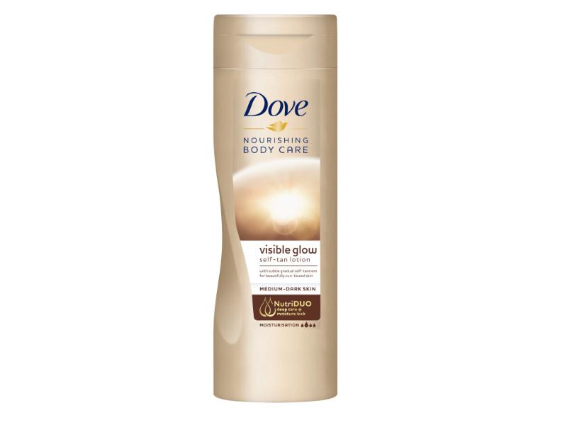 Dove Noushing Body Care Visible Glow Self Tan Lotion