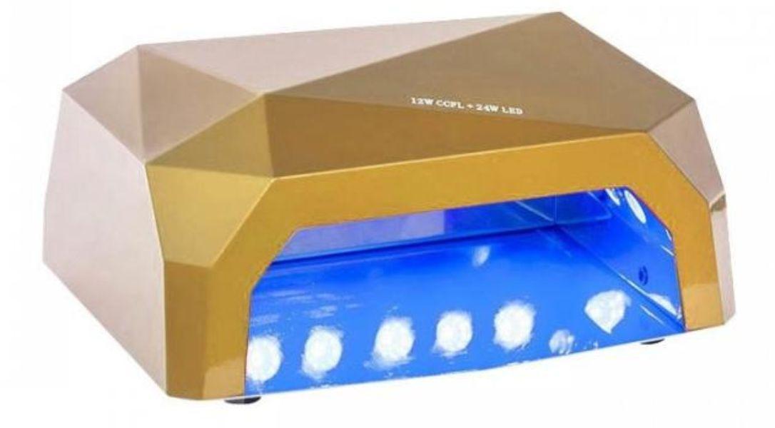 Fiera 36W CCFL (UV/УФ) + LED, золотая