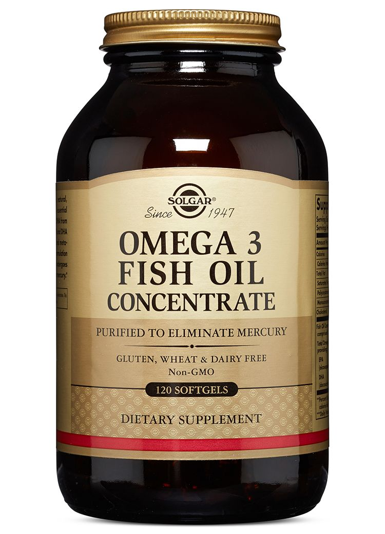 Omega-3 Fich Oil Cocentrate Solgar