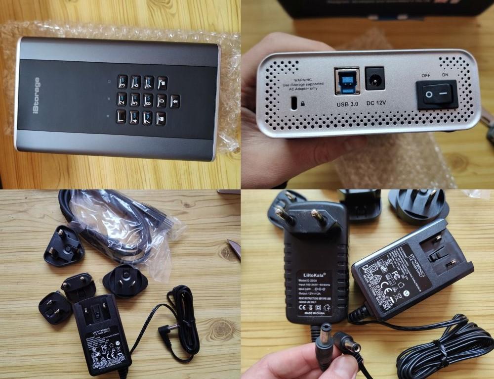 HDD iStorage diskAshur DT 2 8 ТБ