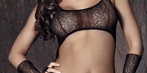 Комплект эротического белья Anais Tiffiny черный