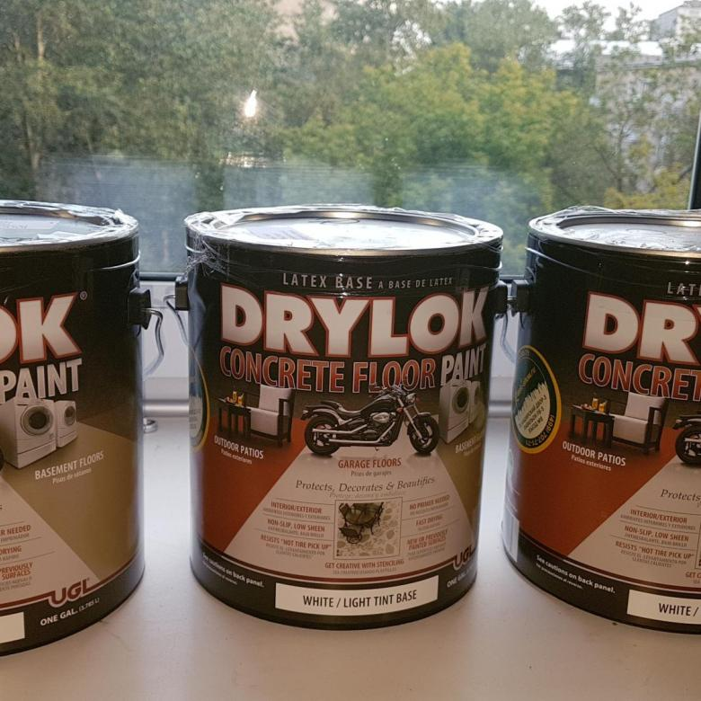 UGL DRYLOK Latex Concrete Floor Paint