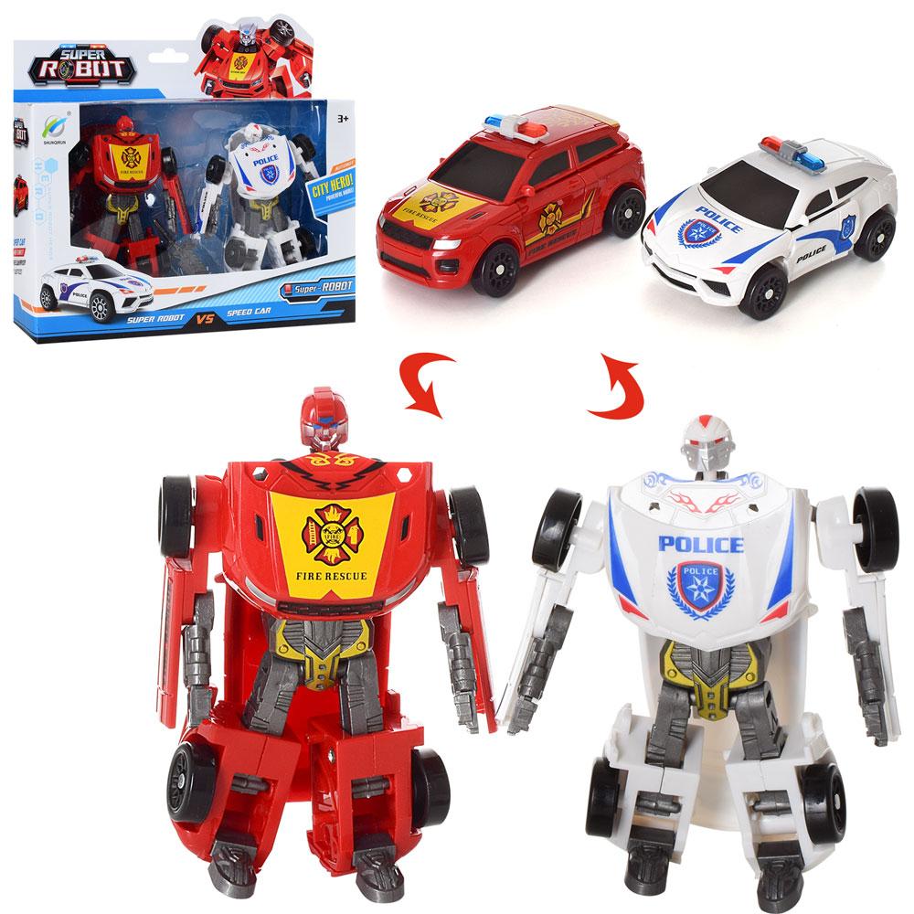 Роботы или машинки для мальчиков