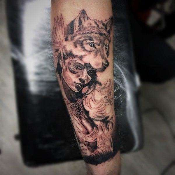 Capital tattoo