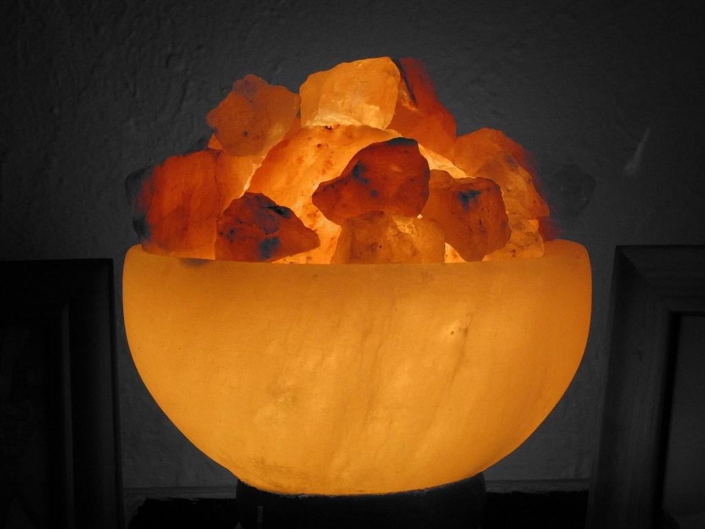 Гималайские соляные лампы из Пакистана