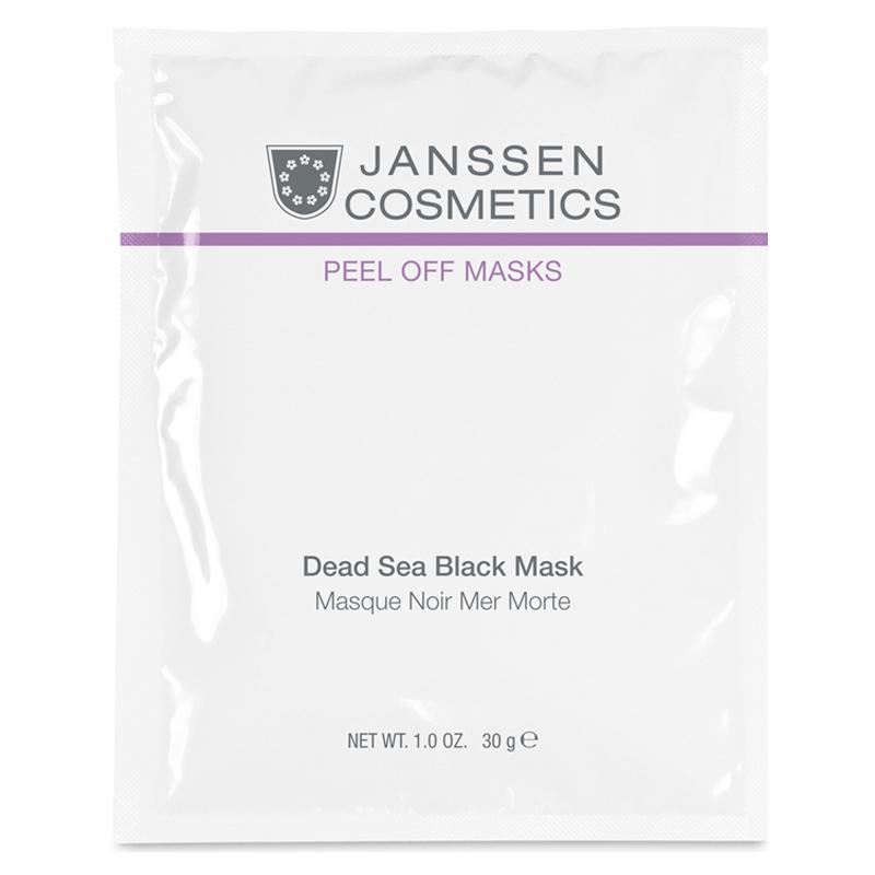 Black Dead Sea Mask Janssen Cosmetics объем 10х30 г