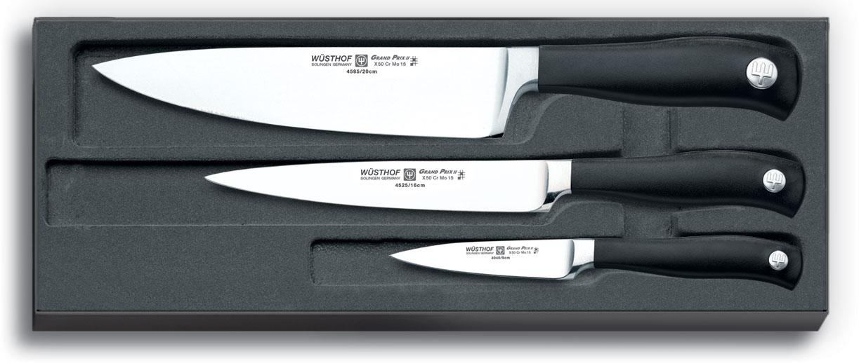 Набор Wusthof Grand prix II 3 ножа