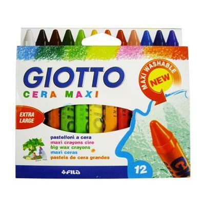 GIOTTO, Cera Maxi 12 шт (291200)