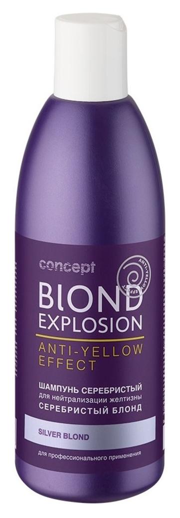 Concept Blond Explosion Anti-Yellow Effect Shampoo