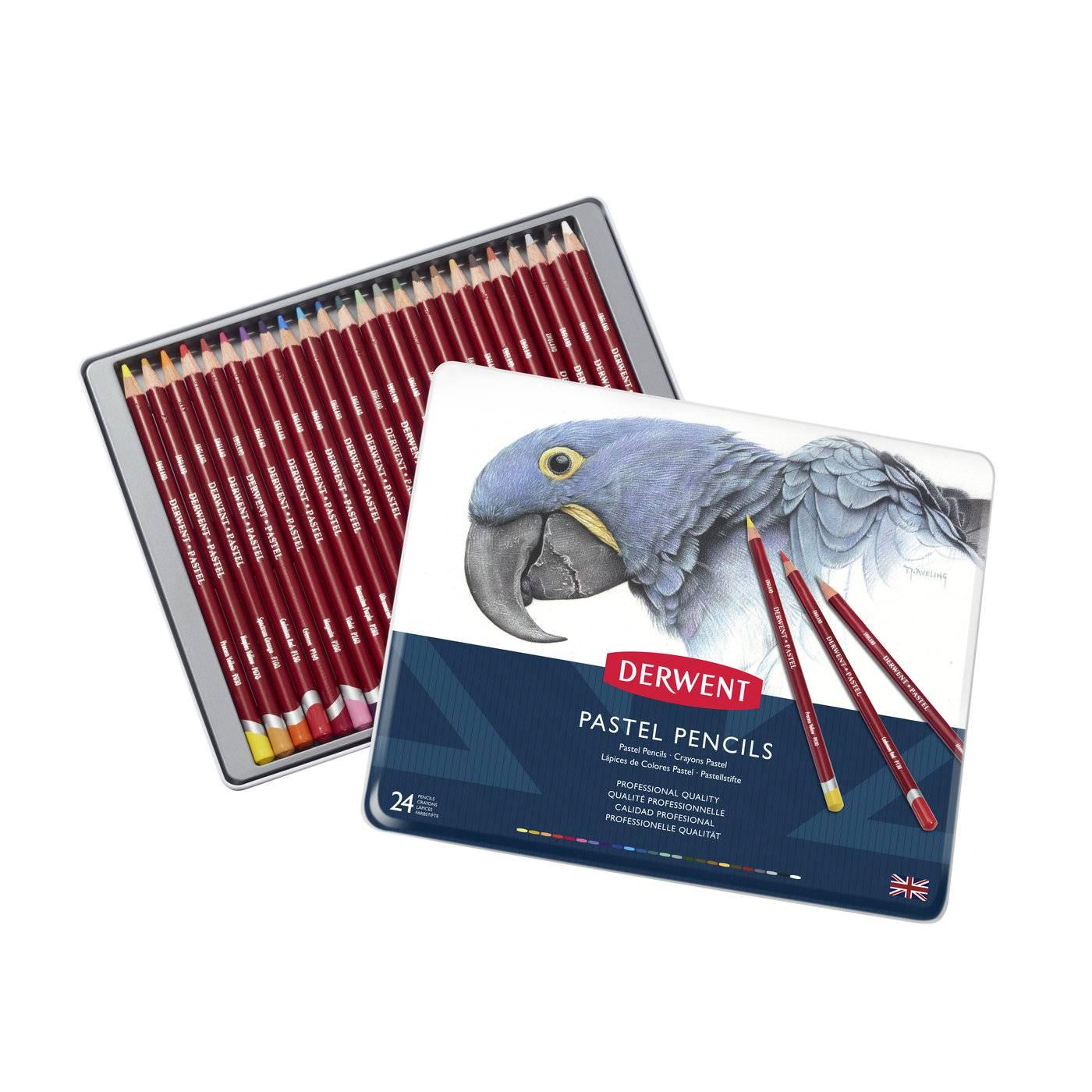 Derwent, Pastel pencils, 24 шт (32992)