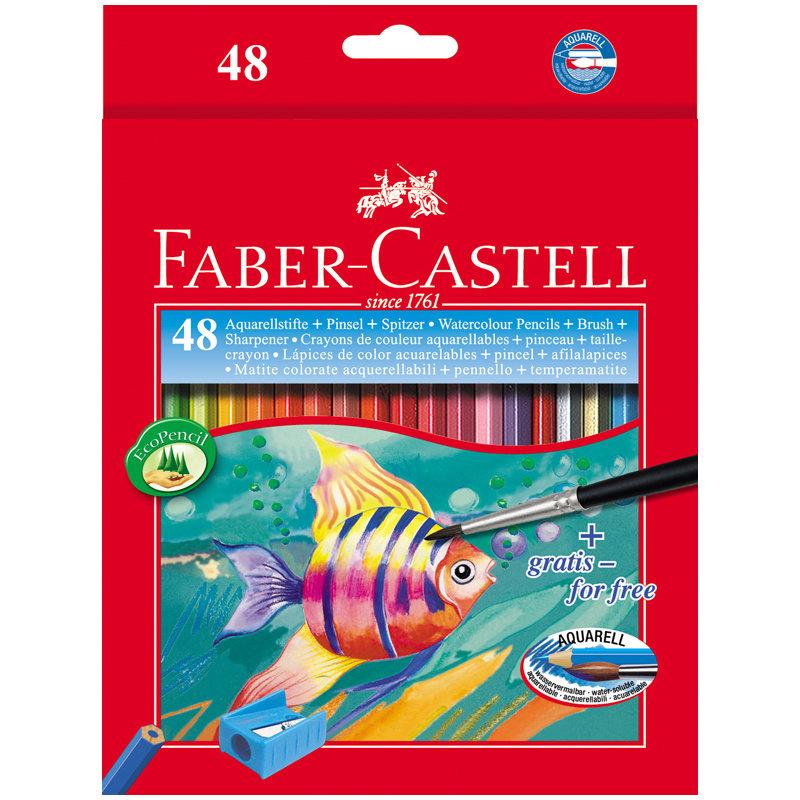 Faber-Castell, Colour Pencils 48 шт (114448)