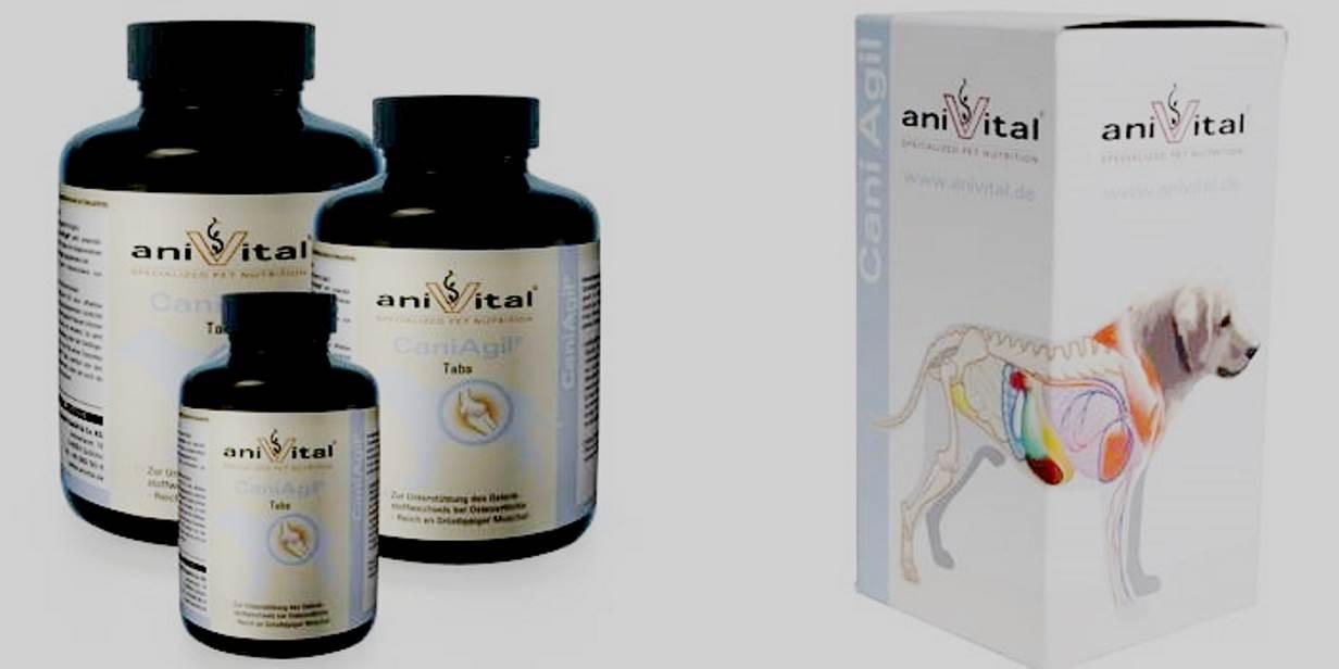 Anivital CaniAgil (60 штук)