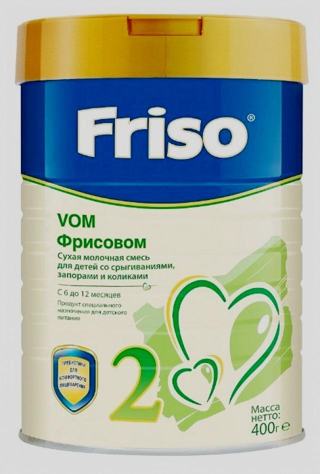 Friso VOM 2 (с 6 до 12 месяцев) 400 г