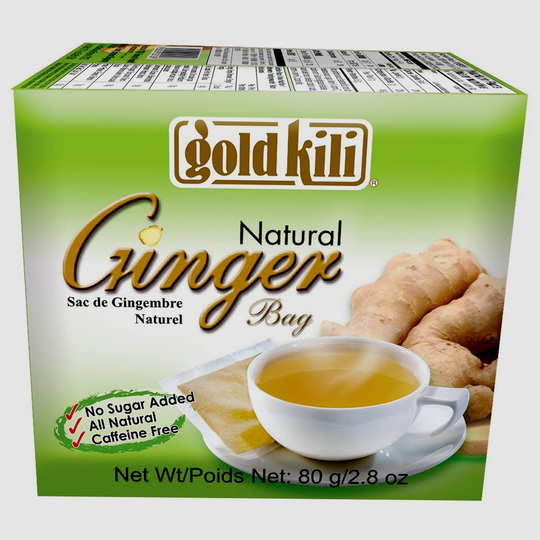 Gold Kili Ginger (имбирь натуральный в пакетиках)