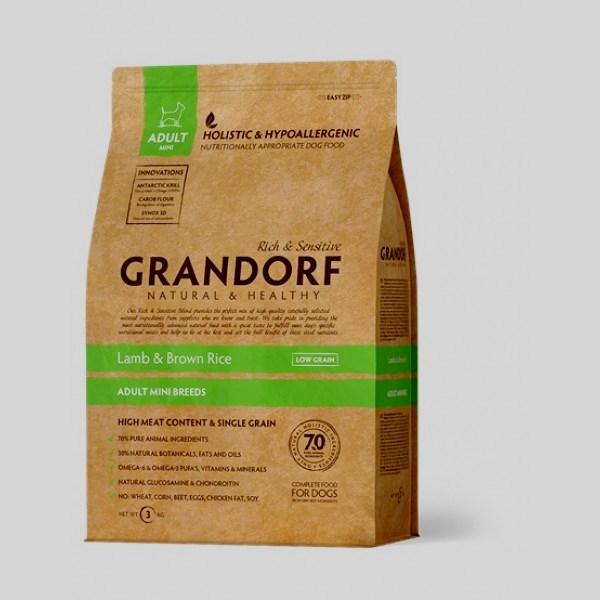 Grandorf Ягнёнок с рисом Мини