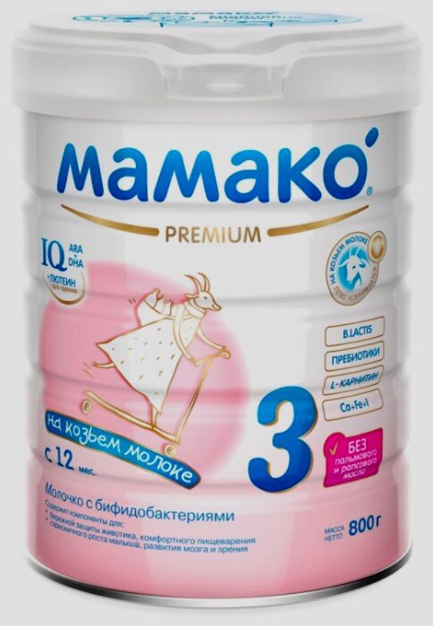 МАМАКО 3 Premium (c 12 месяцев) 800 г