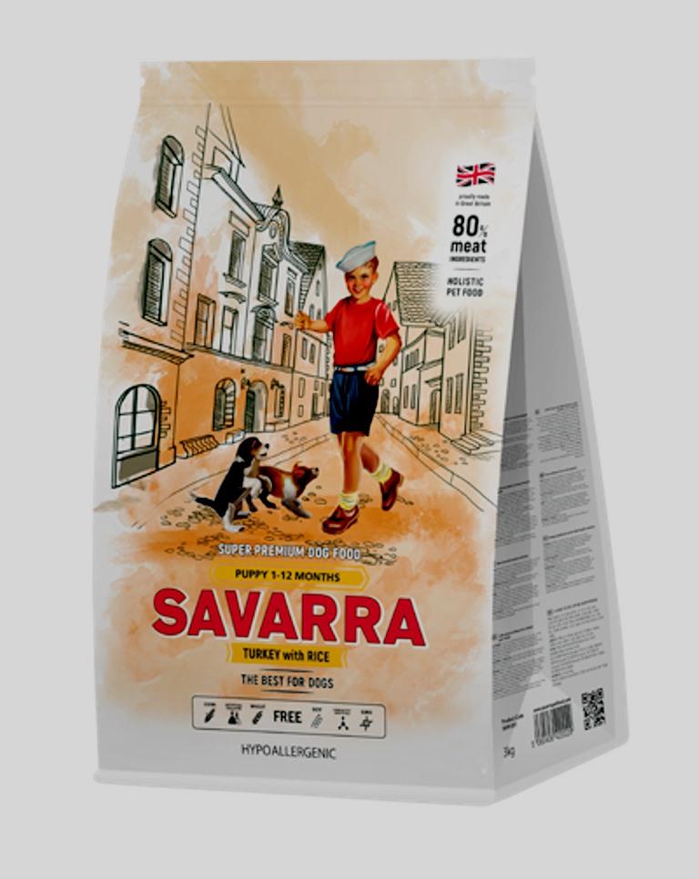 SAVARRA Puppy Индейка и рис