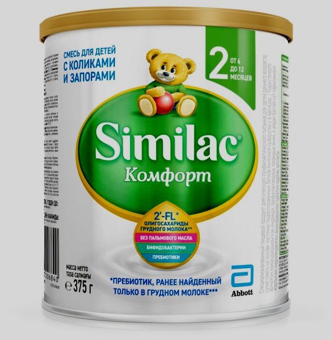 Similac (Abbott) Комфорт 2 (6-12 месяцев) 375 г