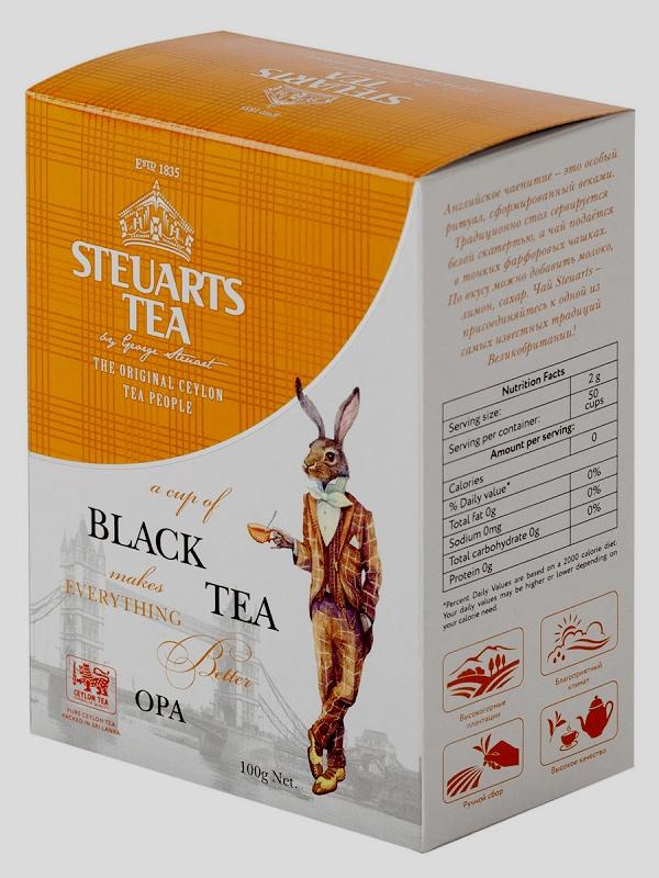 Steuarts Tea OPA