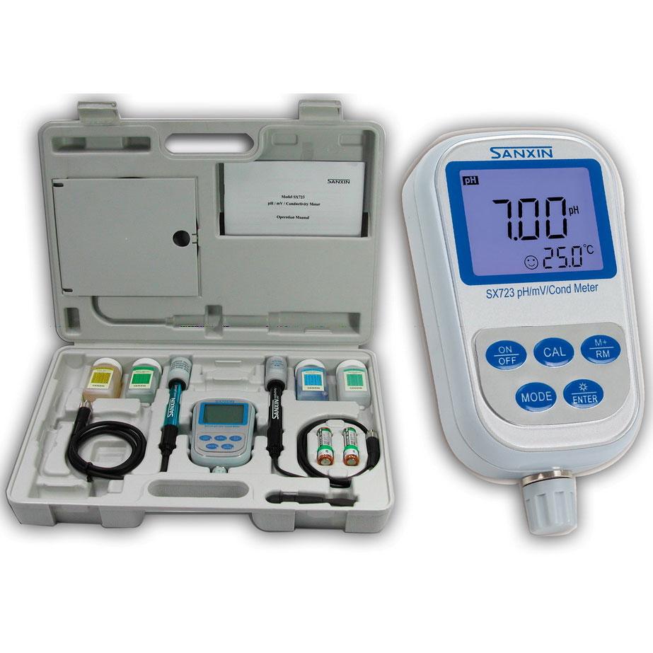 Мультимонитор качества воды 6 в одном SanXin SX723
