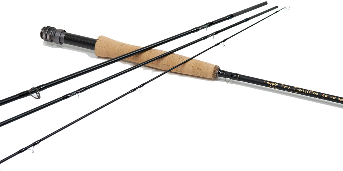 Temple Fork Outfitters lefty kreh 5 wt 9'0 4pc