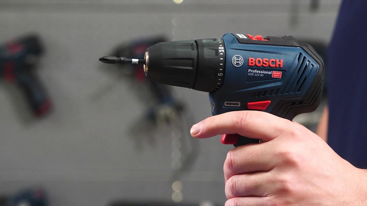 BOSCH GSR 12V-30 Li-Ion