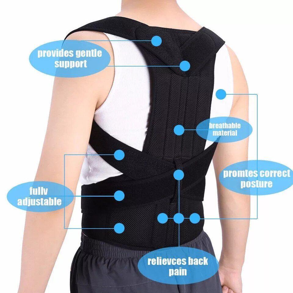 Магнитный корректор осанки Real Doctors Posture Support