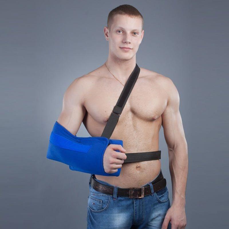 Косыночный бандаж для плечевого сустава с отводящей подушкой РП-6У-10 (M-XL) Реабилитимед
