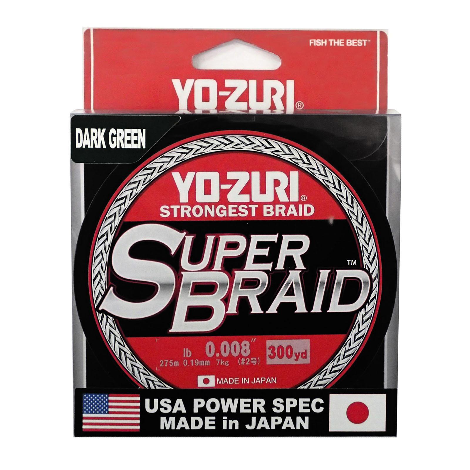 YO-Zuri PE SUPERBRAID (135 м)