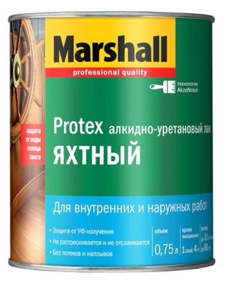 Лак яхтный Marshall Protex
