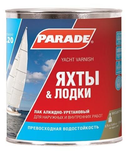 Лак Яхтный Parade