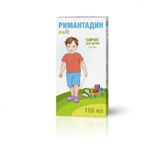 Римантадин Кидс сироп детский 2 мг/мл 100 мл