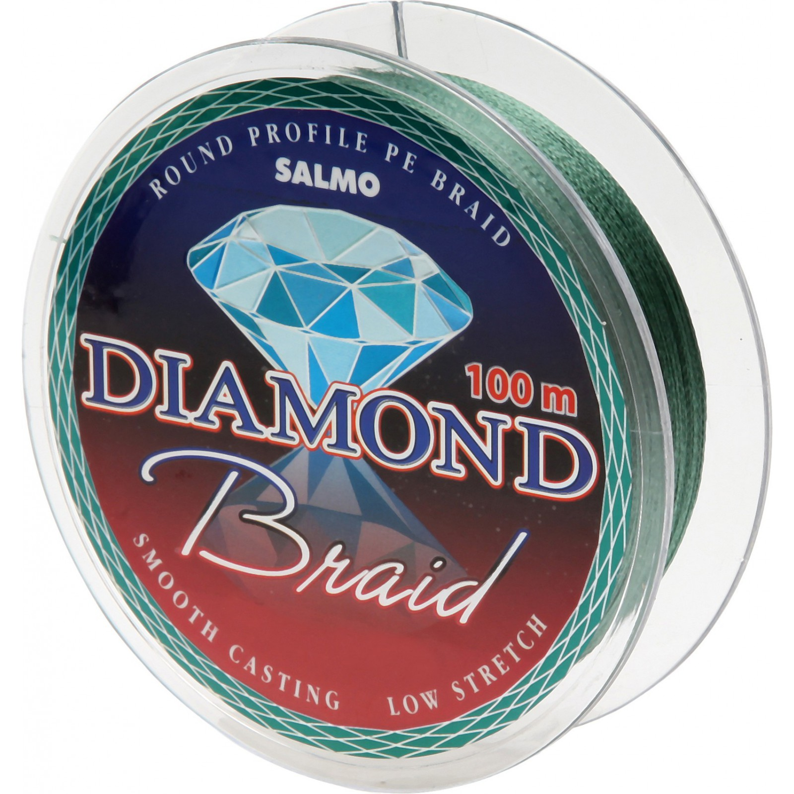 Salmo Diamond BRAID Green (100 м)