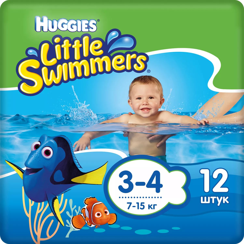 Huggies трусики-подгузники для плавания Little Swimmers