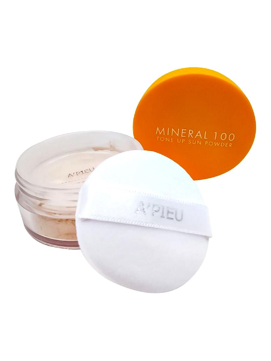 Mineral 100 Tone Up Sun Powder