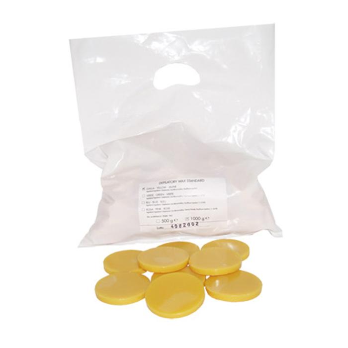 Kapous Professional Горячий воск желтый натуральный в дисках