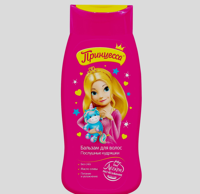 Детский бальзам для волос Принцесса. Послушные кудряшки (250 мл)