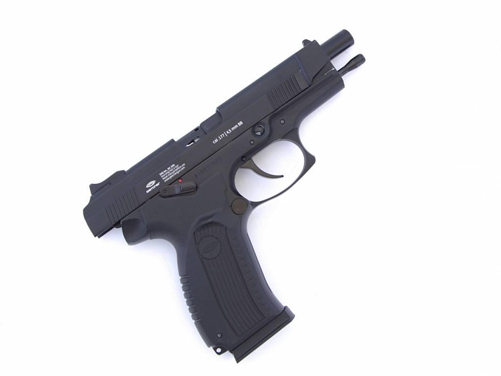 Gletcher Пистолет ПЯ Грач, USA-version, CO2