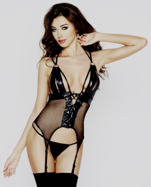 Katriss corset black passion