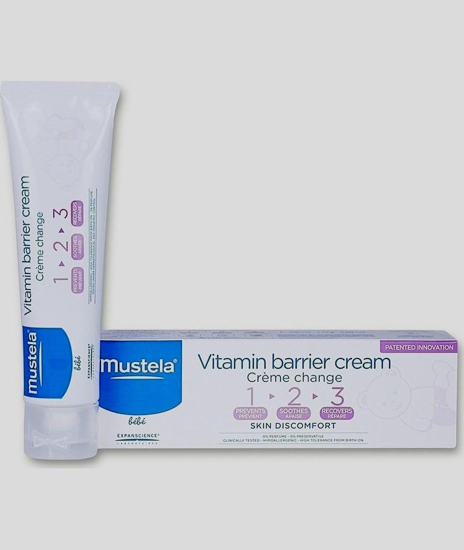 Mustela Vitamin Barrier Cream 1 2 3