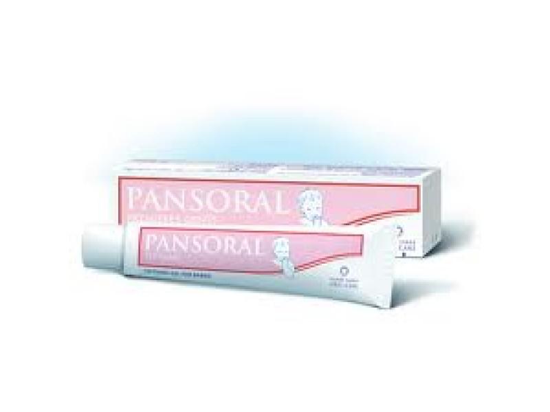Пансорал первые зубы гель для полости рта 15г