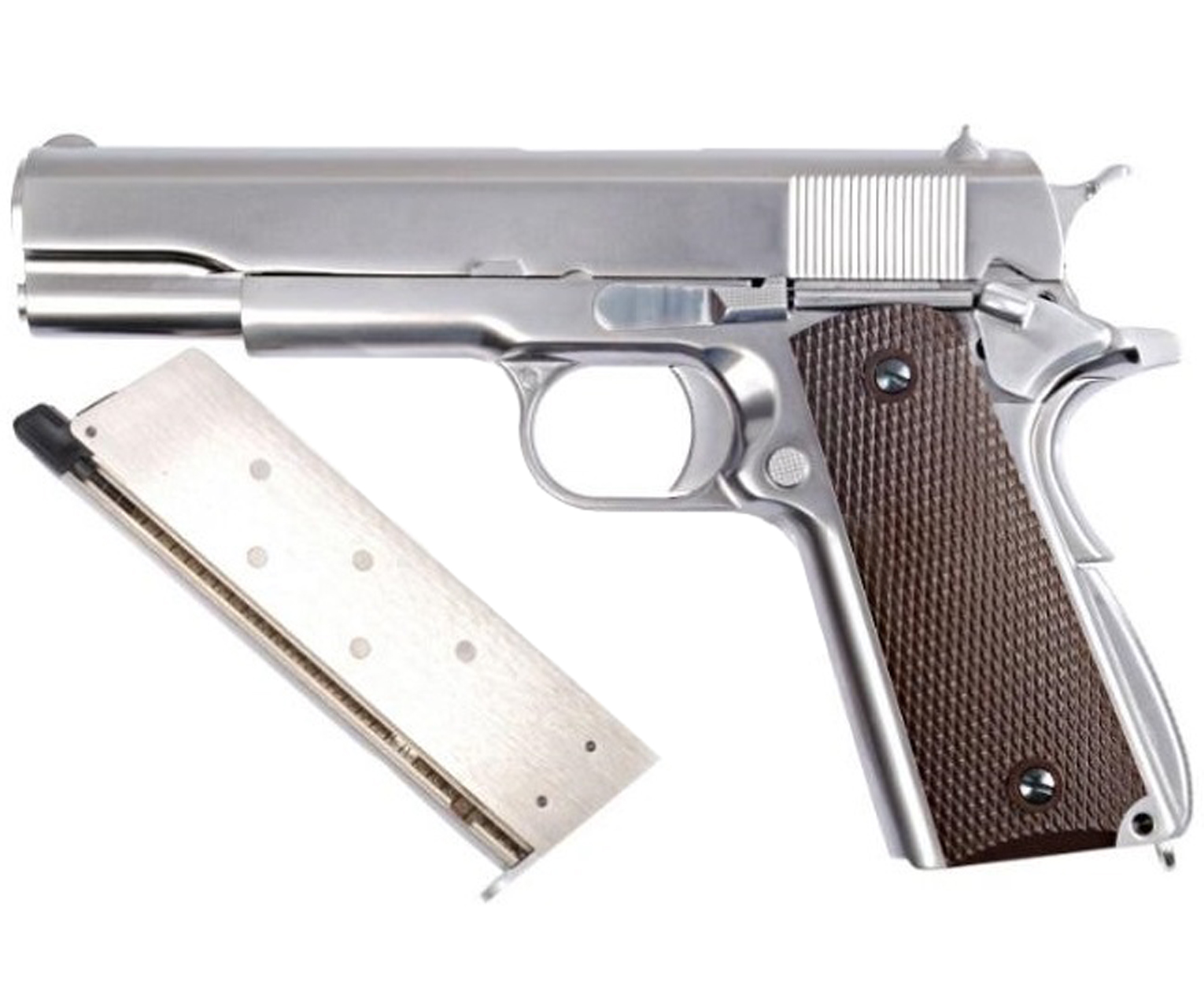 WE Пистолет Colt M1911, GreenGas (gp109)